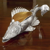 sturgeon bowl by tatiana fabergé