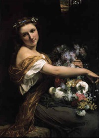 dionysia by pierre auguste cot