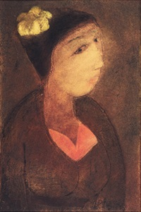 gadis bali (balinese girl) by made djirna