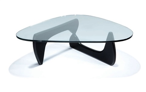 biomorphic coffee table model in 50 by isamu noguchi