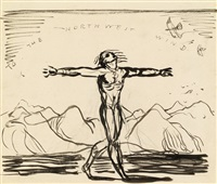 to the northwest wind by rockwell kent
