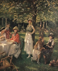 the tea party by jules cayron