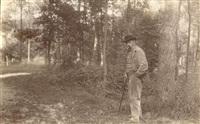 émile verhaeren, poète, au caillou-qui-bique, le 21 août by paul marsan dornac