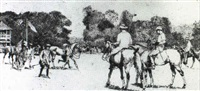 polo at hurlington by h. s. collison morley