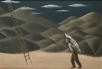 el pintor de nubes iii by alberto gálvez