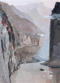 the three gorges of the yangtze river by wu guanzhong