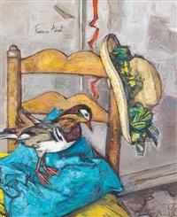 le coussin bleu by françoise adnet
