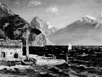bogliaco, lake garda by alice maud fanner