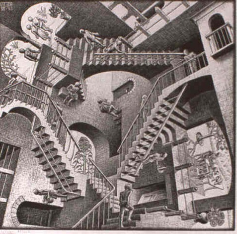 relativity by m c escher
