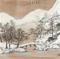 月照千山 (landscape) by xu jiechuan