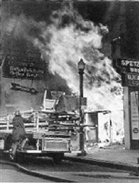 explosion by  le roy b. merriken