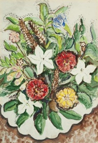 summer flowers by rody kenny courtice