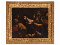 the betrayal of christ by guercino