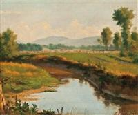 summer harvest by joseph-charles franchere