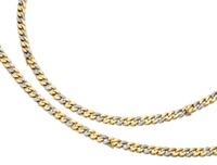 a bracelet/necklace (in 5 parts) by piaget