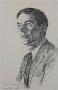 portrait of chris barnard by irmin henkel