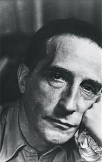 marcel duchamp, paris by gisèle freund