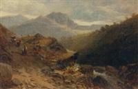 mountain path, north wales by thomas morris ash