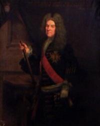 portrait d'andré de gaudechart comte d'essuile, lieutenant général des armées du roi by emile tabary