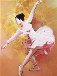 penari balet by wahyu srikaryadi