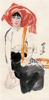 少女 (girl) by dai mingde