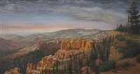 canyon landscape by richard iams