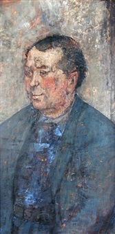 portrait of olivier by paul rebeyrolle