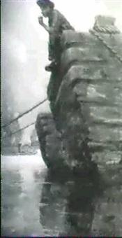 boy sitting on barge by thornton oakley
