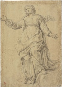 vergine in gloria by aureliano milani