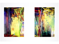 victoria i & ii (the pair of) by gerhard richter