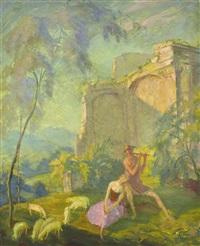 romantic scene by richard klein