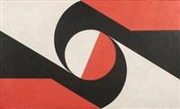 composition blanc, rouge et noir by elsa bolivar
