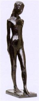 stående flicka by gunnar nilsson