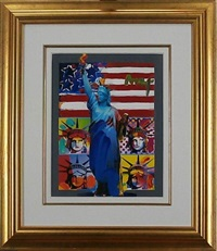 liberty series full liberty by peter max