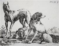 die drei hunde by pauwels van hillegaert