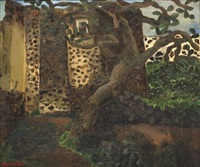 la nopalera, árbol de nopales by rosario cabrera
