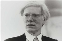 portrait andy warhol by roland fischer