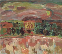 landscape by william george gillies