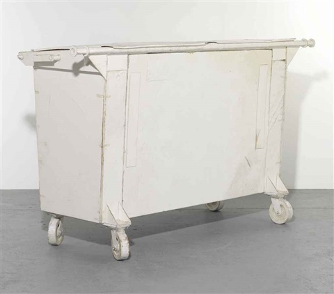 untitled dumpster by tom sachs