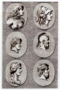 ancient grecian heads by jacob von sandrart