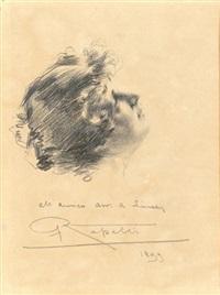 ritratto di donna by camillo rapetti