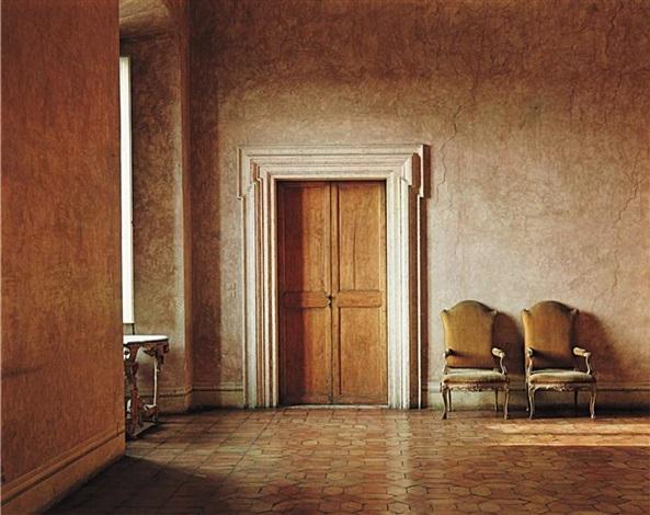 villa medici hall by evelyn hofer