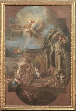 il trasporto dellarca santa by sebastiano conca