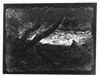 les arbres dans la montagne by jean-baptiste-camille corot