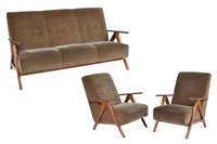 lounge suite (3 works) by schulim krimper