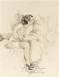 mulher sentada by flavio de carvalho