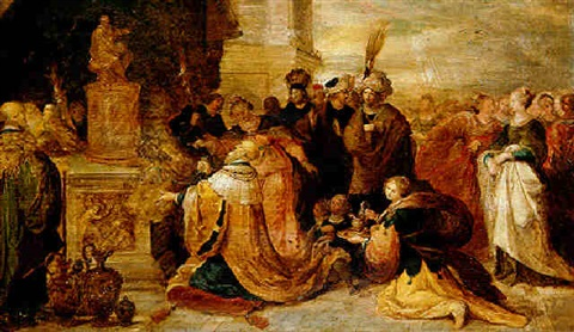 Image result for Solomon's Idolatry