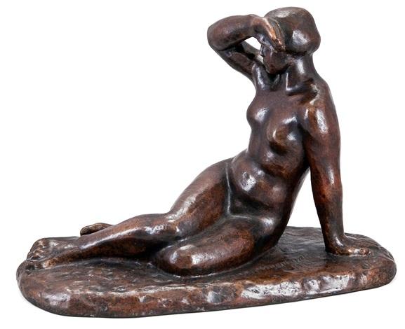 a woman resting by johannes haapasalo
