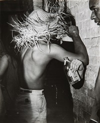 straw kisses by weegee