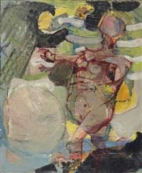 femme nue by paul rebeyrolle